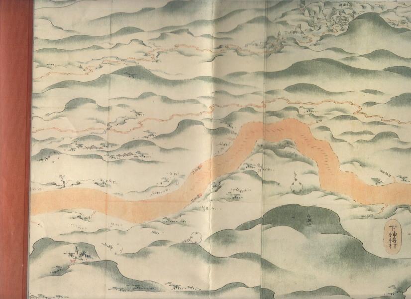 日光坂から燧坂へ桐原村の描きいれがある燧坂は無い