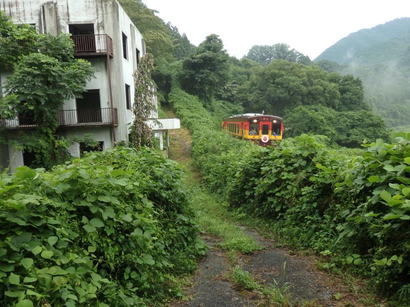 旧神戸発電所とわ鉄
