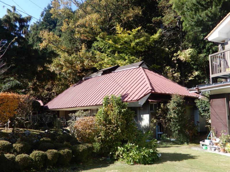 a21-1 唐風呂地区入口にある 古民家
