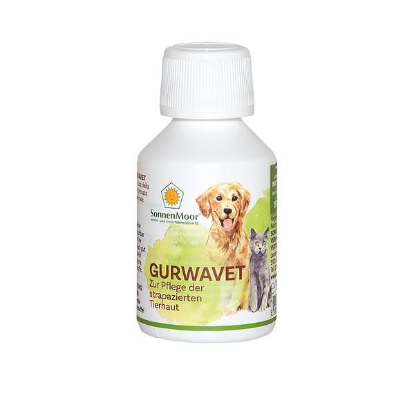 Gurwavet ist ein reines Naturprodukt und wurde zur Pflege von Narben und strapazierter Tierhaut entwickelt.