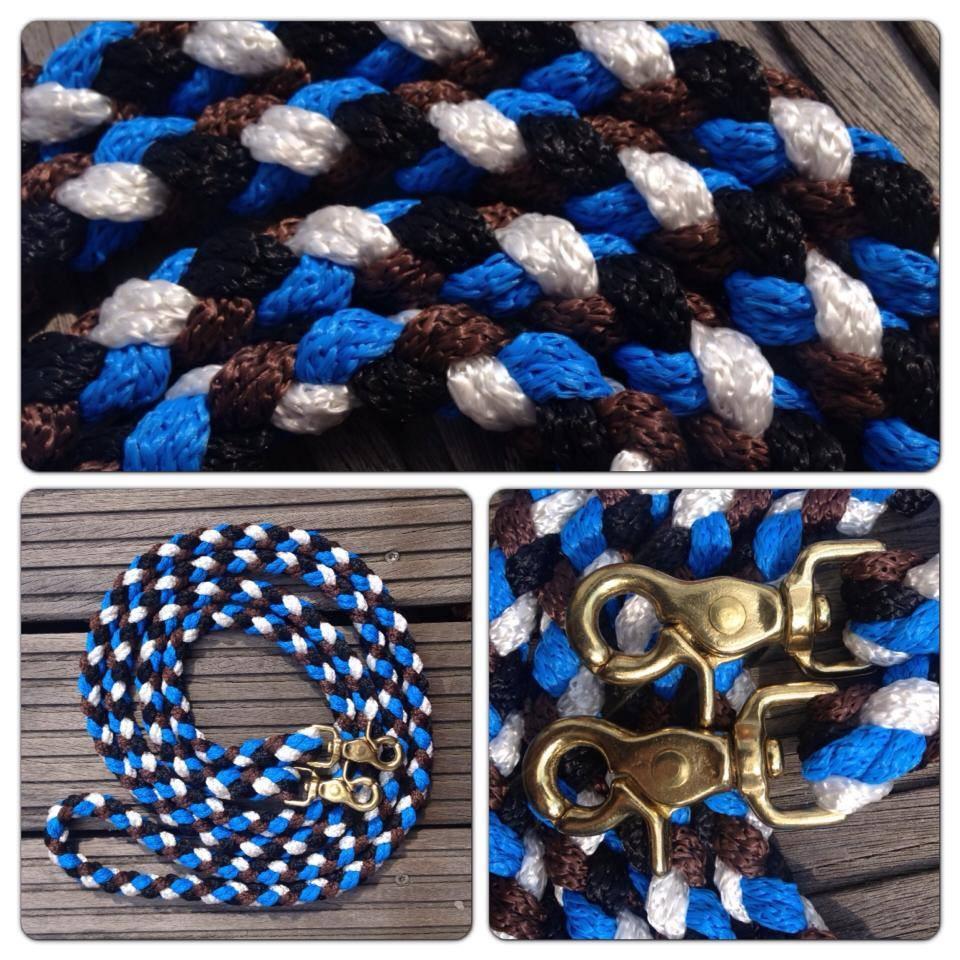 blau weiß braun schwarz