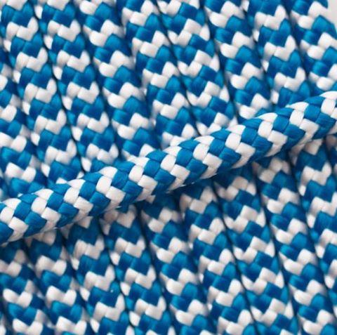 blau weiß gestreift