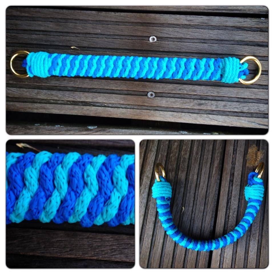 Sidepull blau türkis