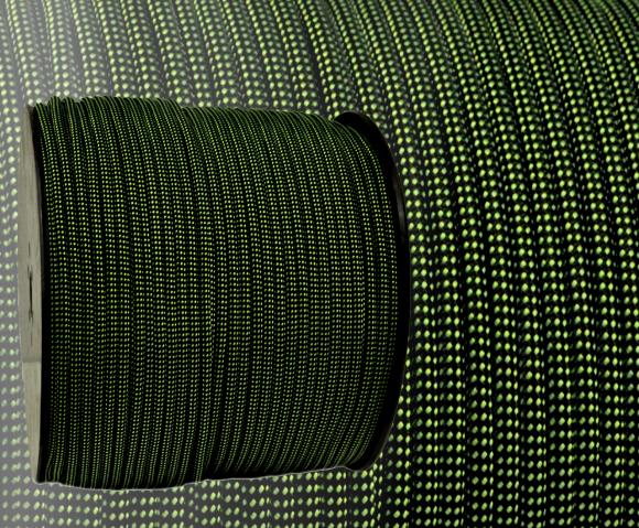 grün schwarz gepunktet