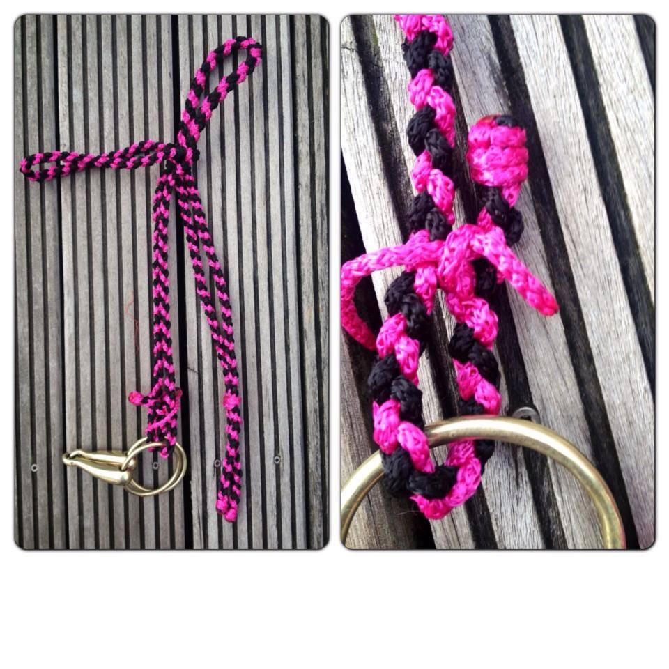 Trense pink schwarz