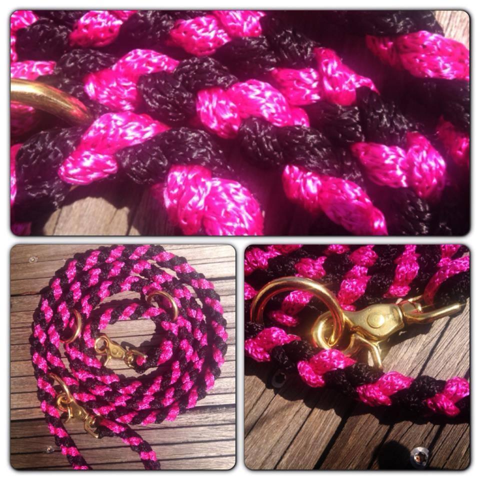 pink schwarz lang