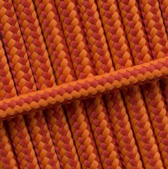 orange gestreift