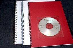 Sprialbindung mit Abheftstreifen, ideal zum abheften von Skripten, Schulungsunterlagen, Bedienungsunterlagen in Ordnern