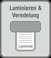 Im Druckladen Erlangen - laminieren wir im Klein- und Großformat, in glänzend und matt. Cellophanieren/Kaschieren in glänzend, matt, leinen und soft-touch.