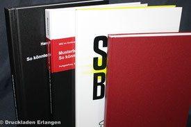 Hardcoverbindung  - Im Druckladen bieten wir Ihnen verschiede Varianten der Hardcoverbindung