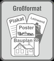 Im Druckladen Erlangen - Drucke bis 152cm Breite, Kopie & Scan bis 122cm Breite und laminieren bis 95cm Breite vom Baupläne, Poster und Plakate in brillianter Qualität.