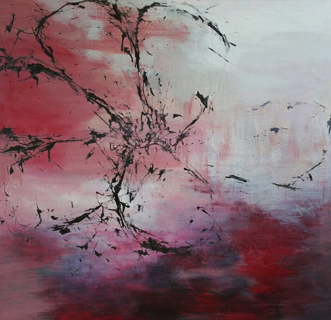 Deep river, 100 x 100