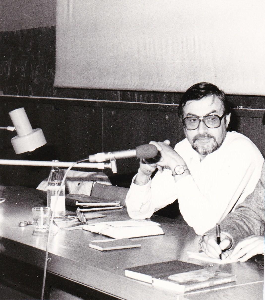Karl-Marx-Universität Leipzig, 7. Mai 1987