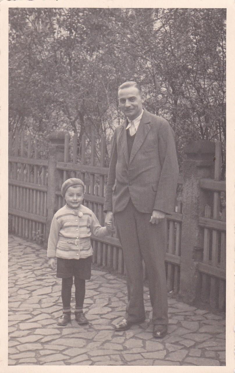 Abholen meines Vaters von der Arbeit (Fa. Sieber, Altmarkt)