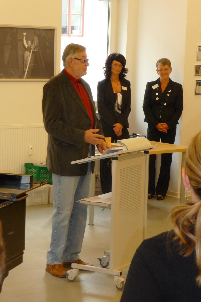 Eröffnung Werner-Bochmann-Ausstellung