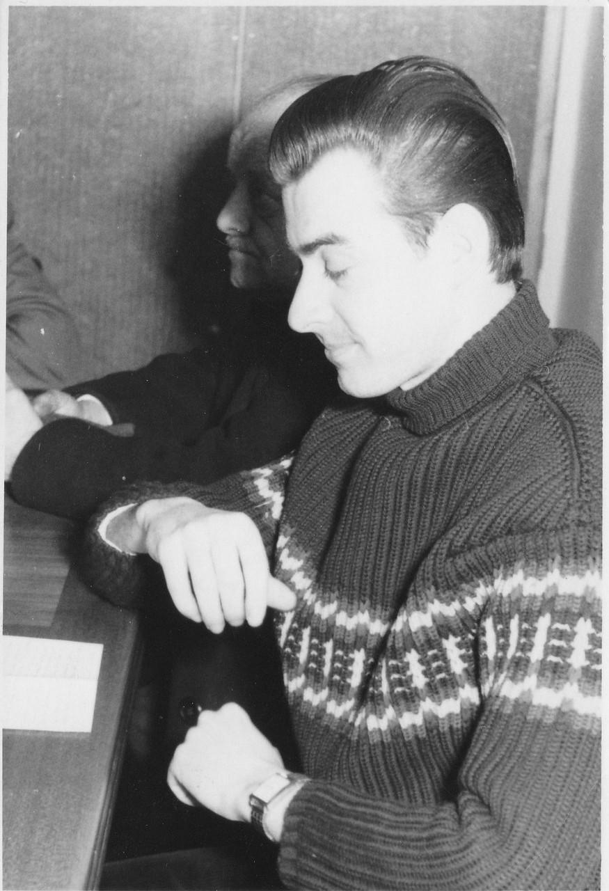 """""""Schreibende Arbeiter"""", Bergen/Vogtl. 1958"""
