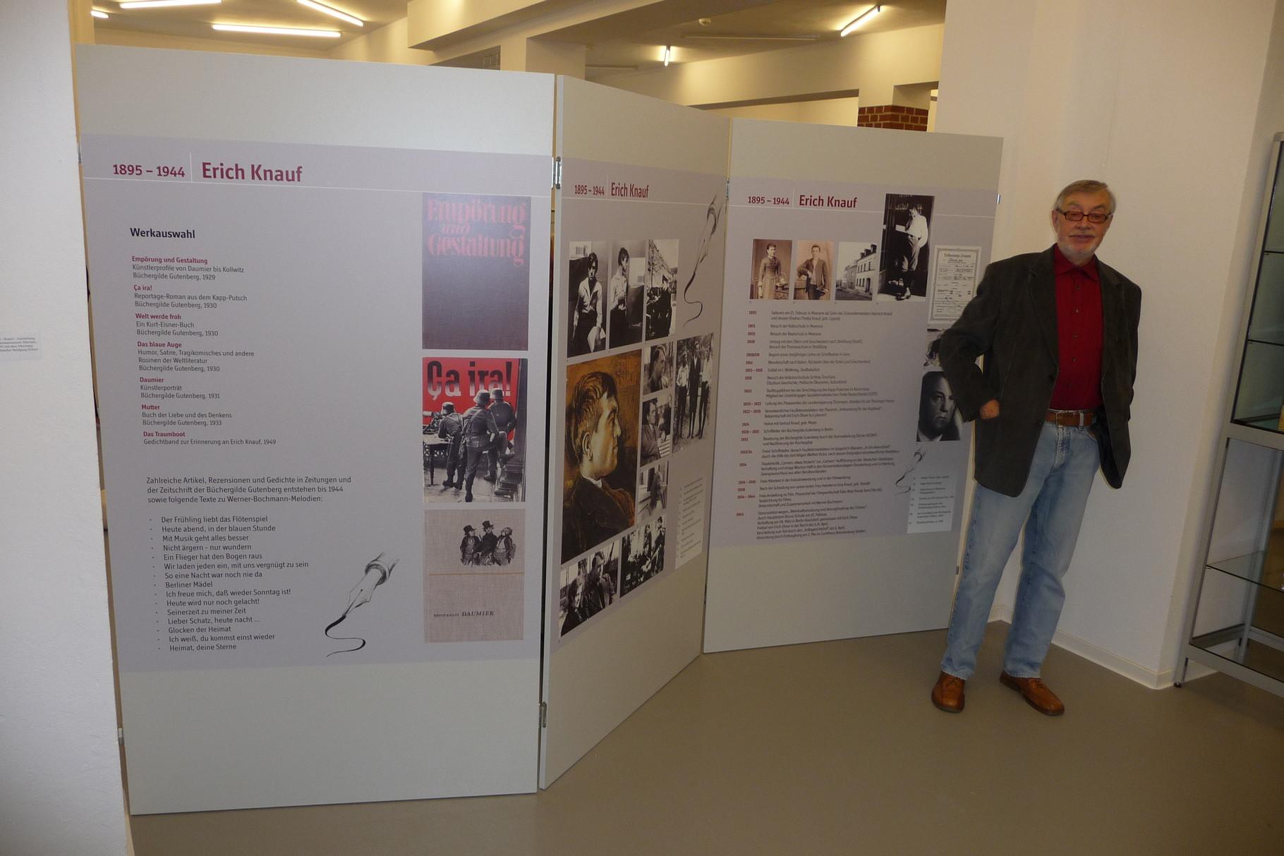 In der Knauf-Ausstellung, Kunsthaus Meerane