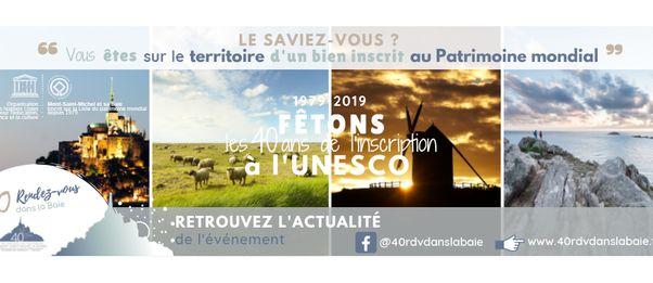 40 ans que la Baie est inscrite Patrimoine Mondiale à l'UNESCO