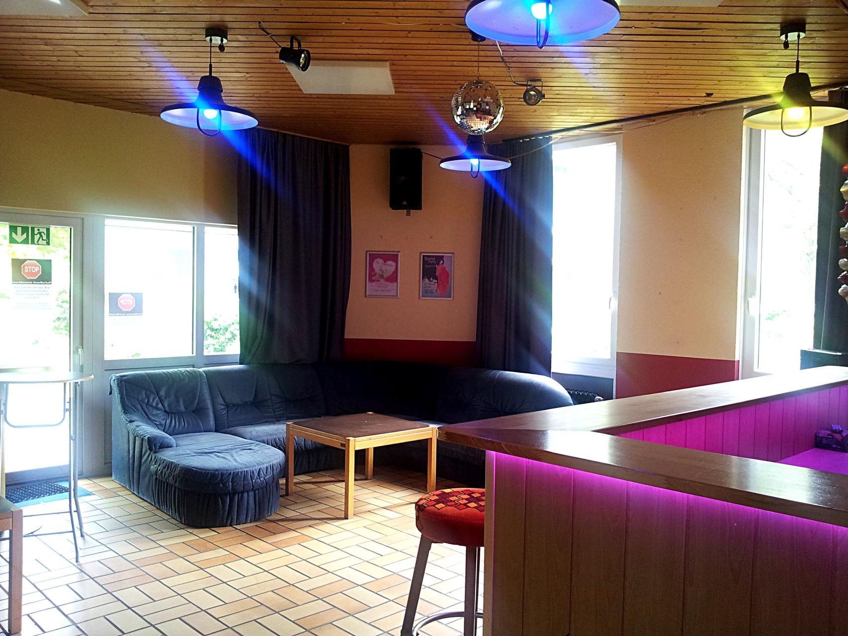 Clubraum in Haus 8