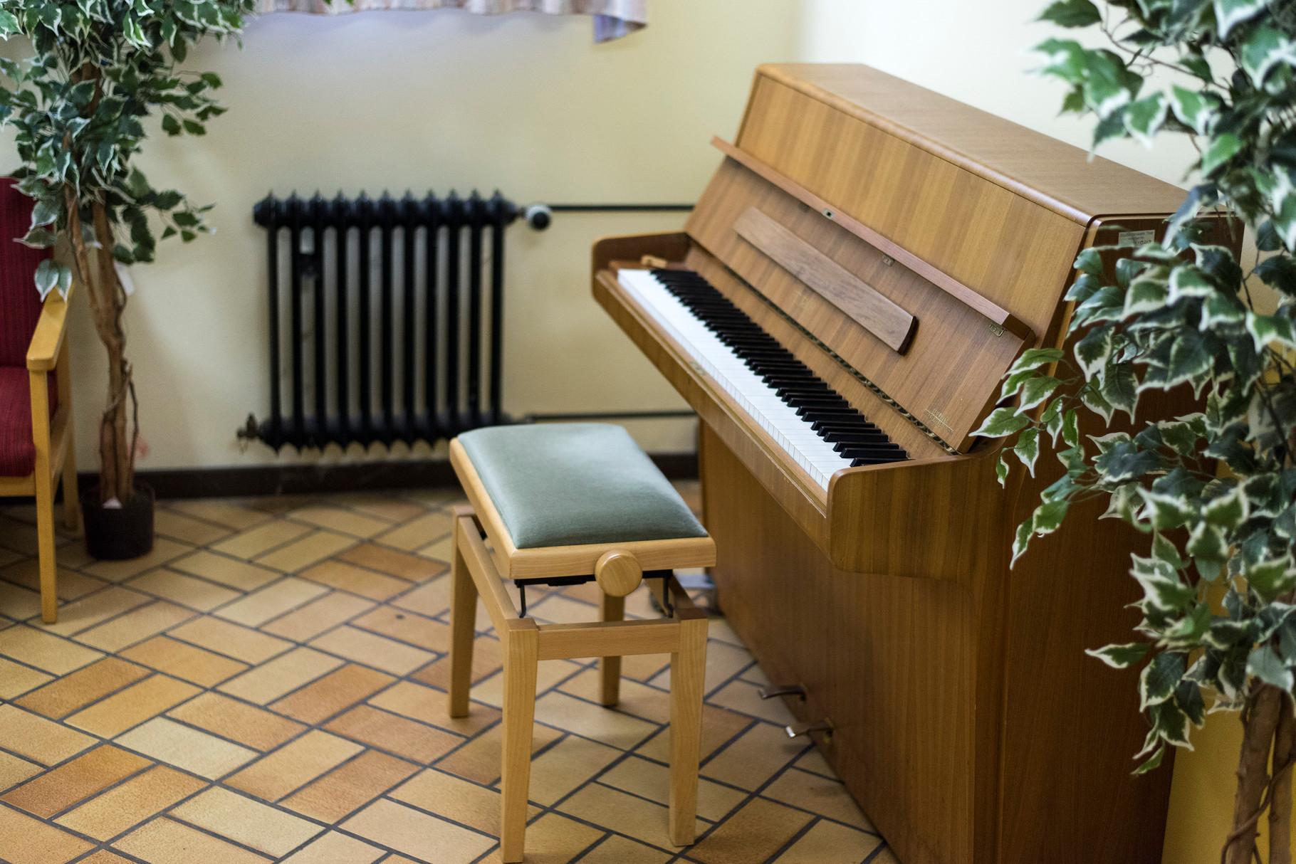 Klavierraum in Haus 1 - Quelle: Studiwerk Trier