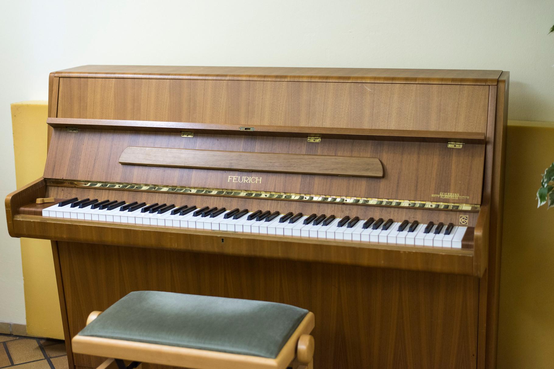 Klavierraum in Haus I - Quelle: Studiwerk Trier