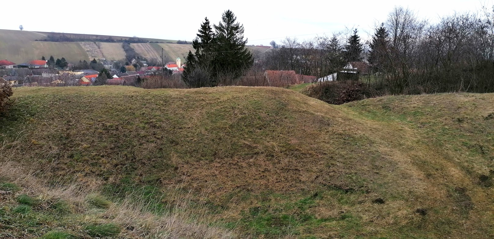 Der Spinner auf dem Hügel
