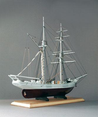 31-41 Oshoro-maru   |  Period:  1909 Scale:1/54  Scratchbuilt  |  Yoshifumi Matsumoto