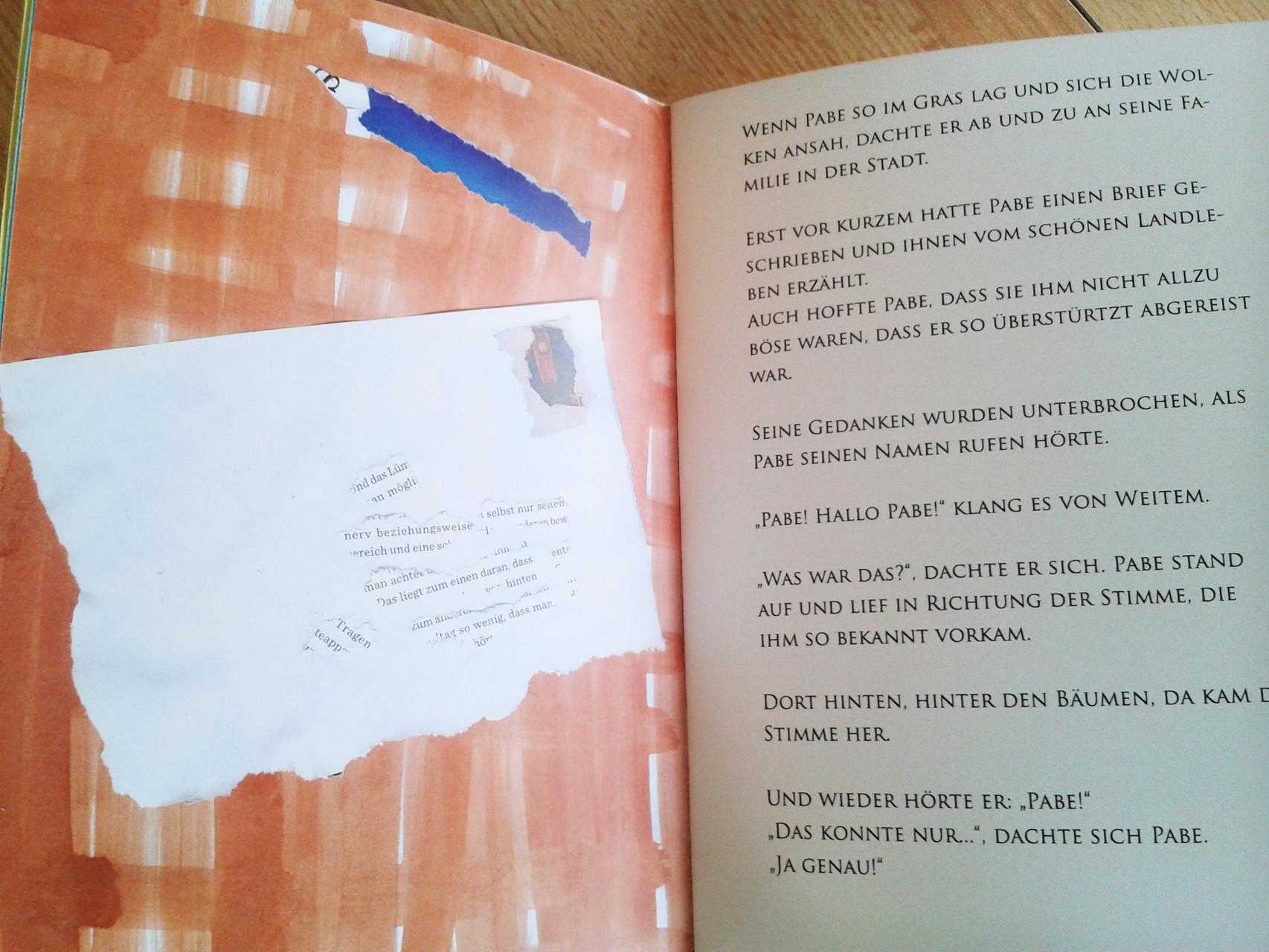 """LOOK INSIDE: Aus dem Buch """"Pabe-das abenteuerlustige Schwein"""""""