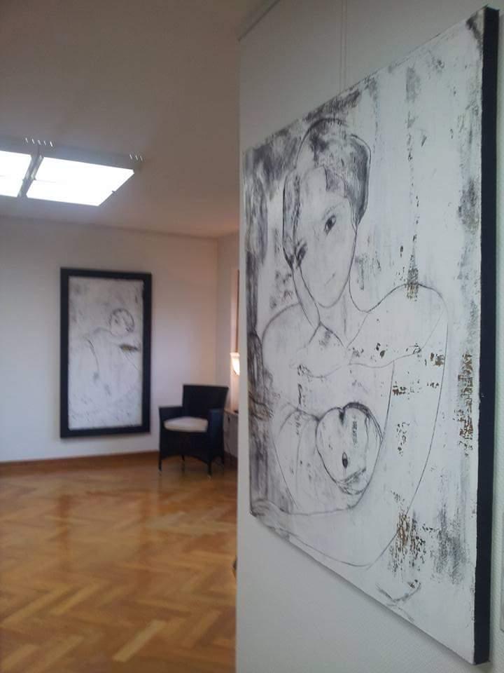 Ausstellungsansicht/ Maikäfer flieg
