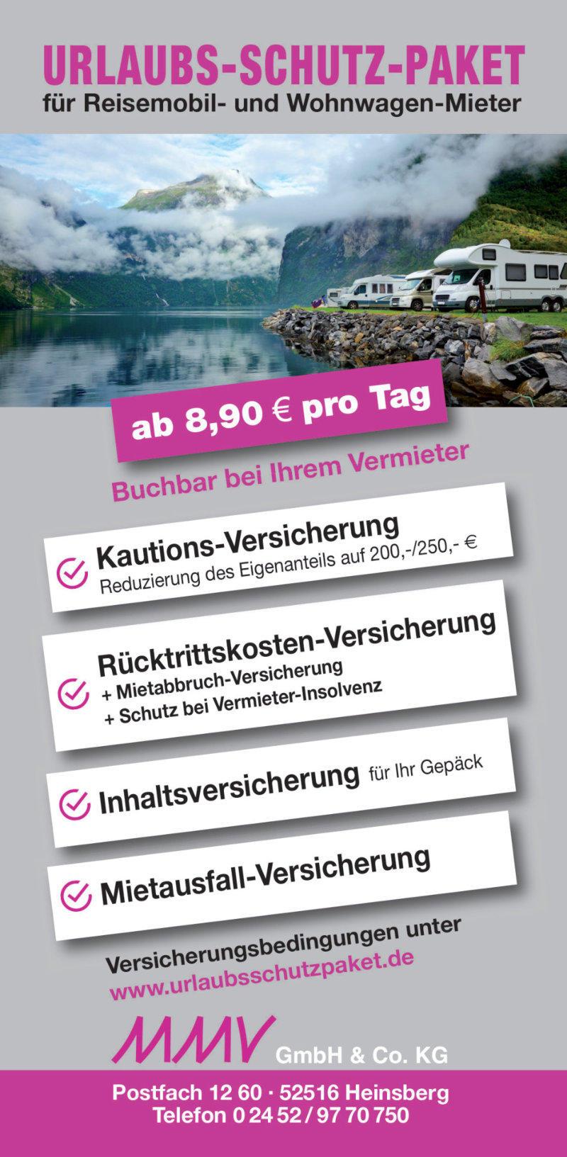 Flyer Reiseschutzversicherung