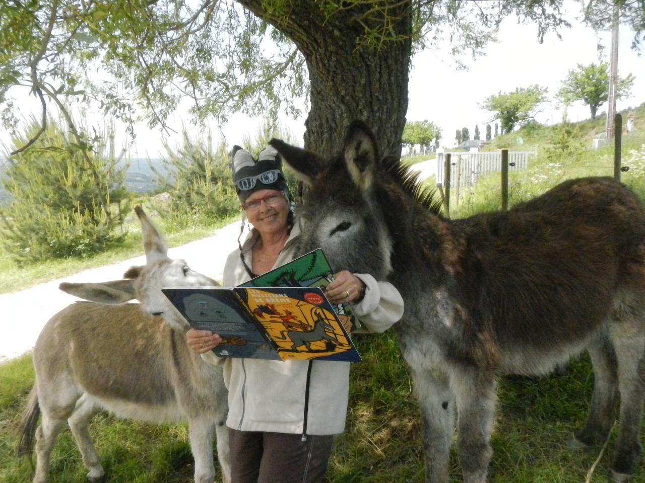 Cath'âne et ses histoires