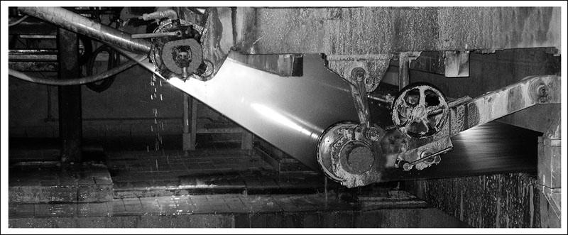 Mondi Neusiedler GmbH - Detailaufnahme der Siebpartie PM4 (2011)