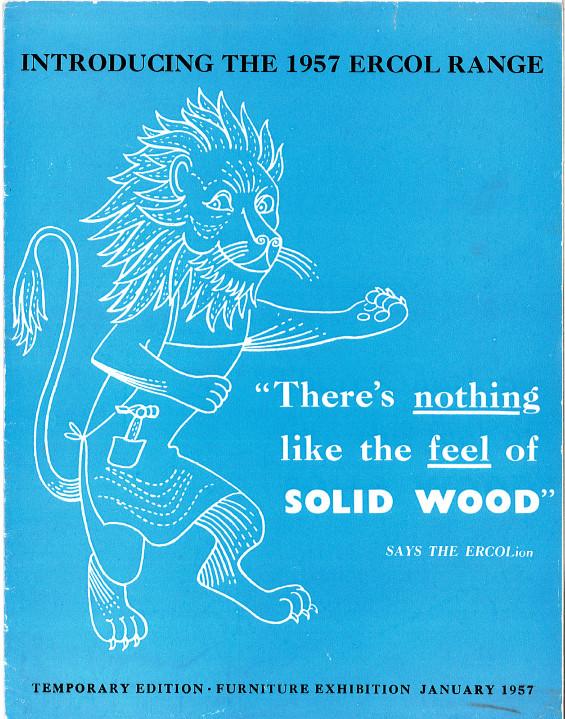 1957年のアーコールカタログの表紙。