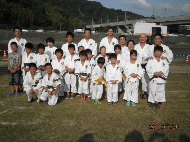 ふしのまつり「椹野川河川敷」2011年7月30日