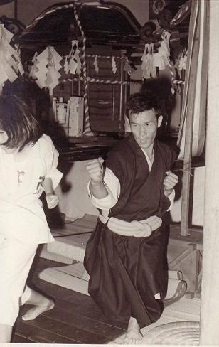 山口祇園祭り「奉納演武」1970年7月