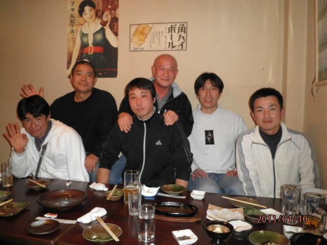 滝口君「送別会」2011年1月10日