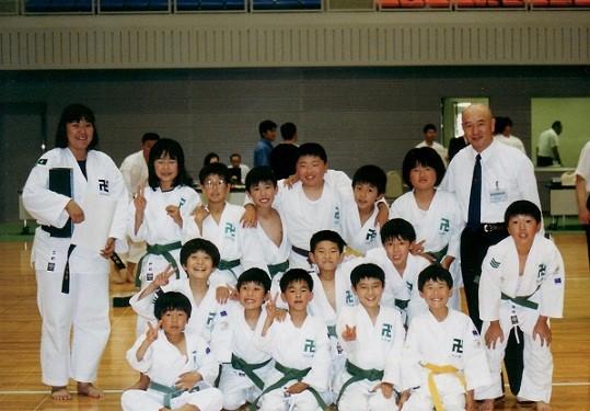 第28回山口県大会「徳山総合スポーツセンター」2000年6月4日