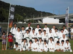 ふしのまつり「椹野川河川敷」2012年7月28日
