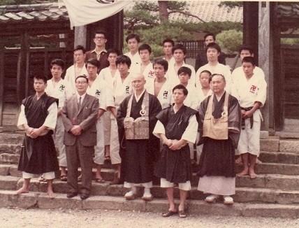 洞春寺達磨忌「奉納演武」1972年