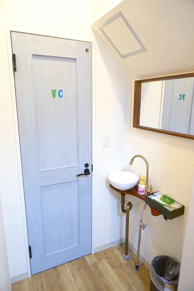 トイレ(ウォシュレット完備だからあったか〜い☺️)