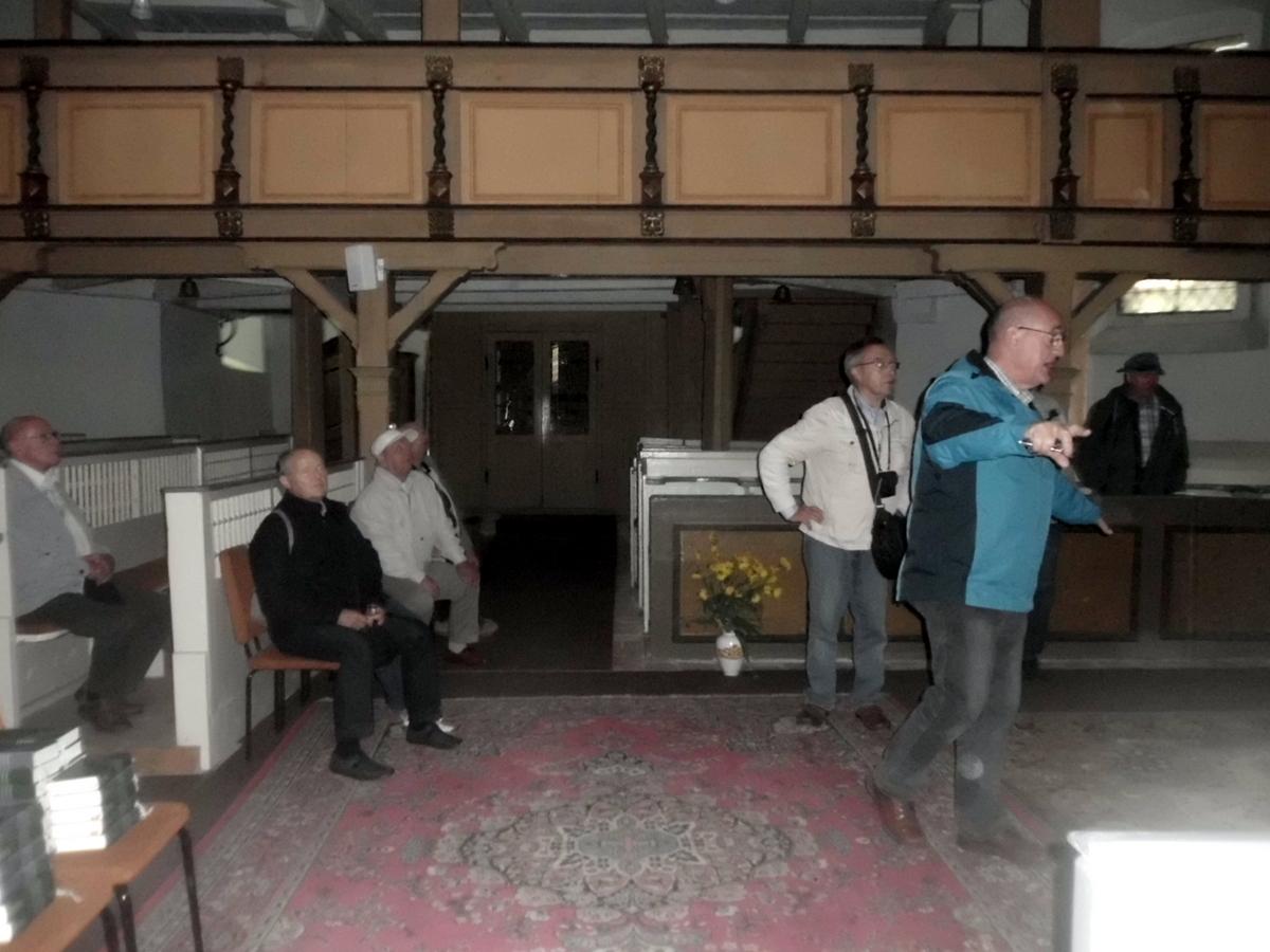 Wir besichtigten unser Kirche