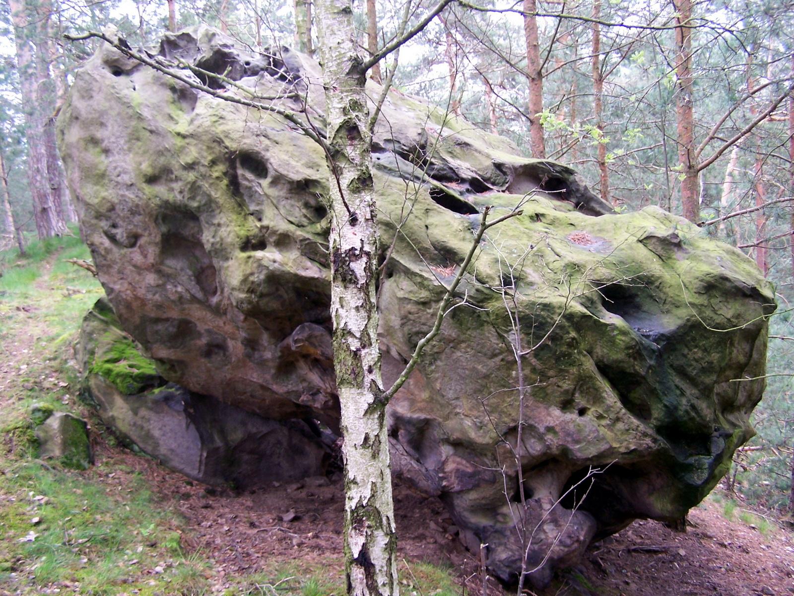 Steine auf dem Sandberg