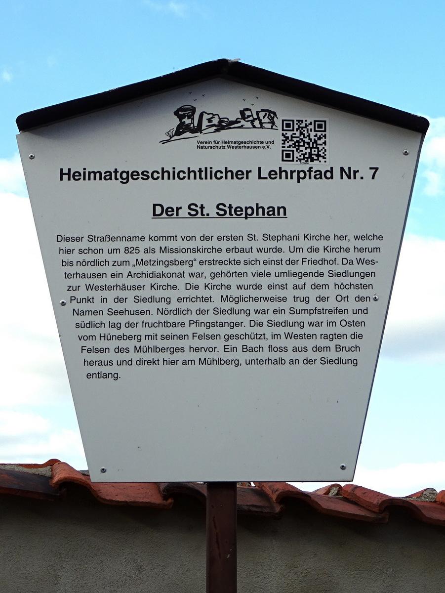 Der St.Stephan (Straße)