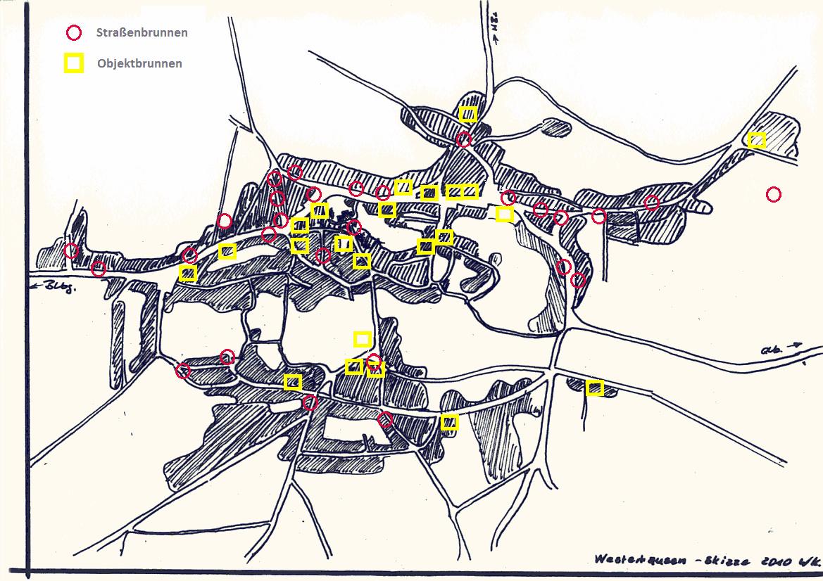Lageplan Im Orte