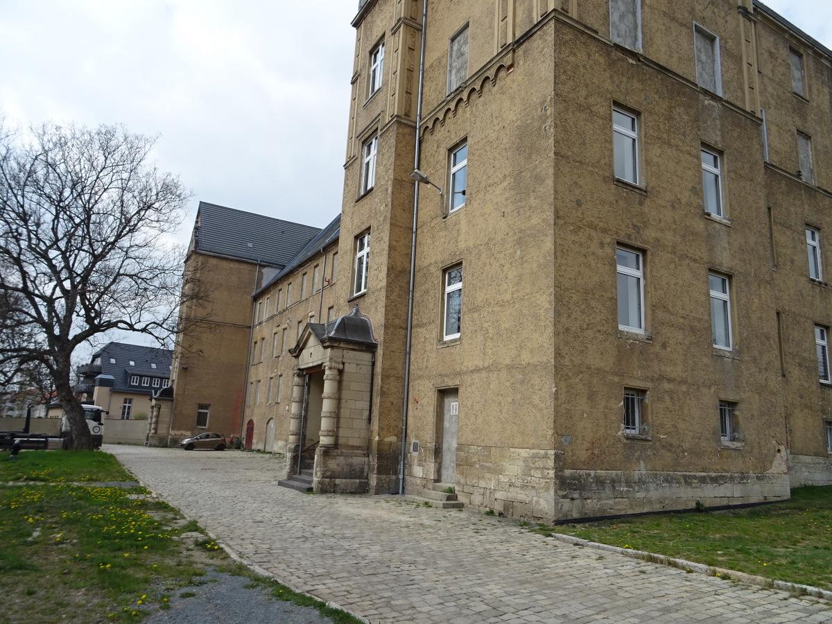 Die alter Kasernen wurden dazu innen total umgebaut