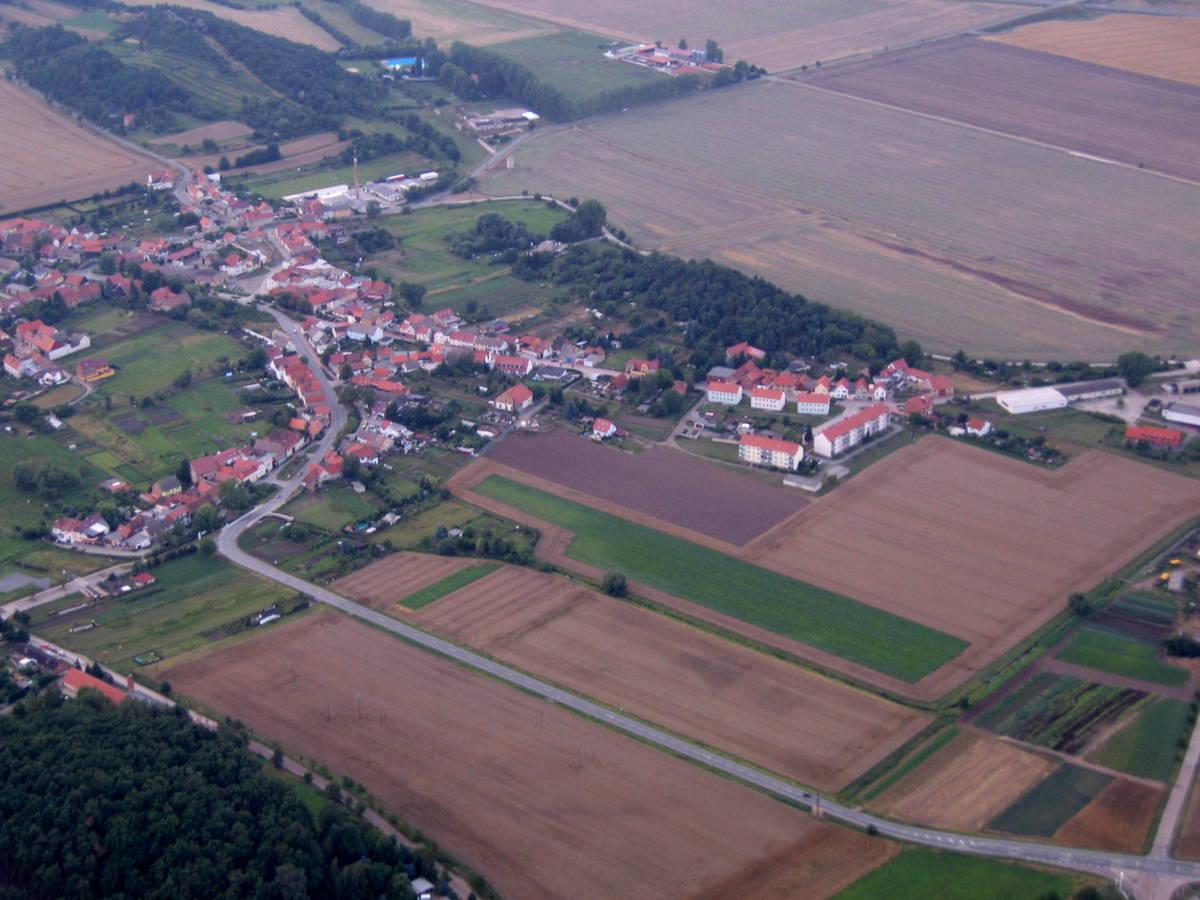 Blick auf Moorteich und Fischberg