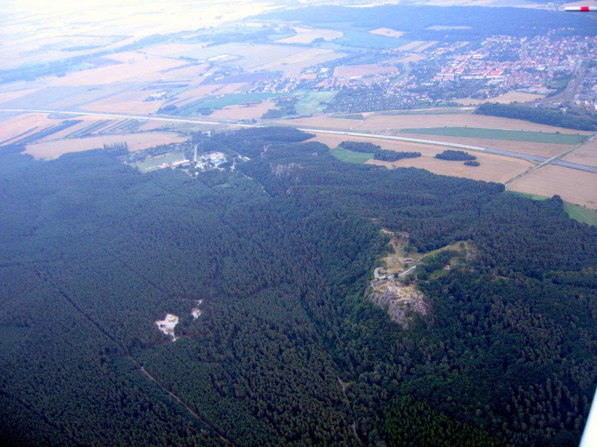 Blick auf den Regenstein