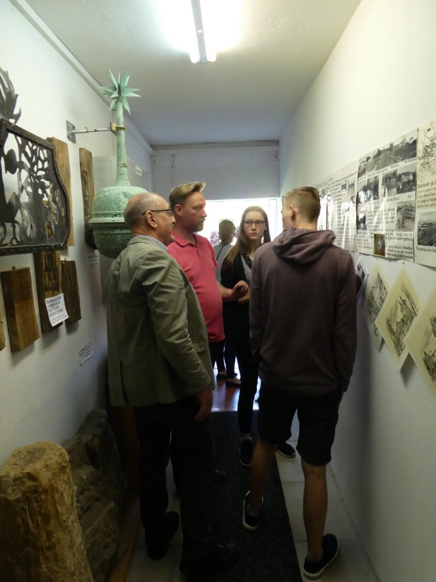 Das Museum ist gut besucht