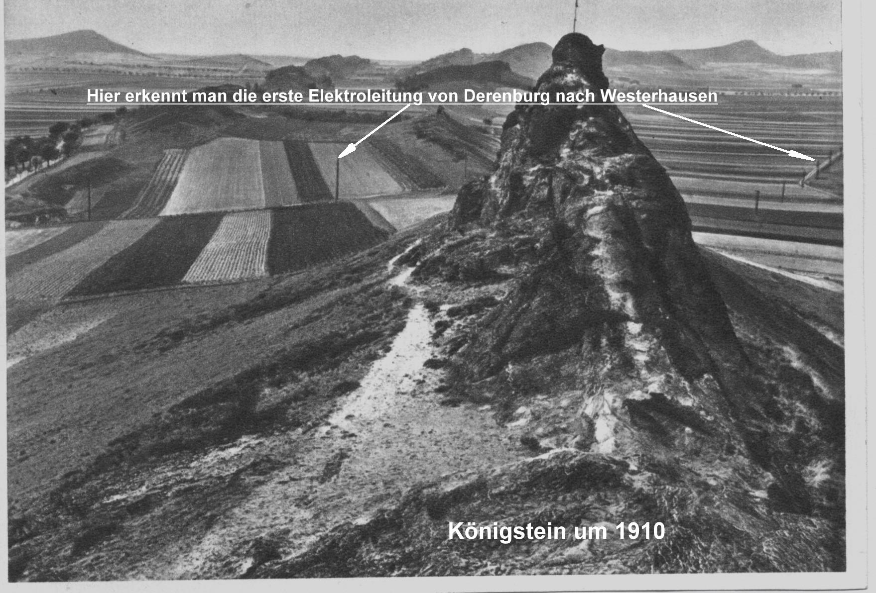 Blick von Ost nach West über den Königstein