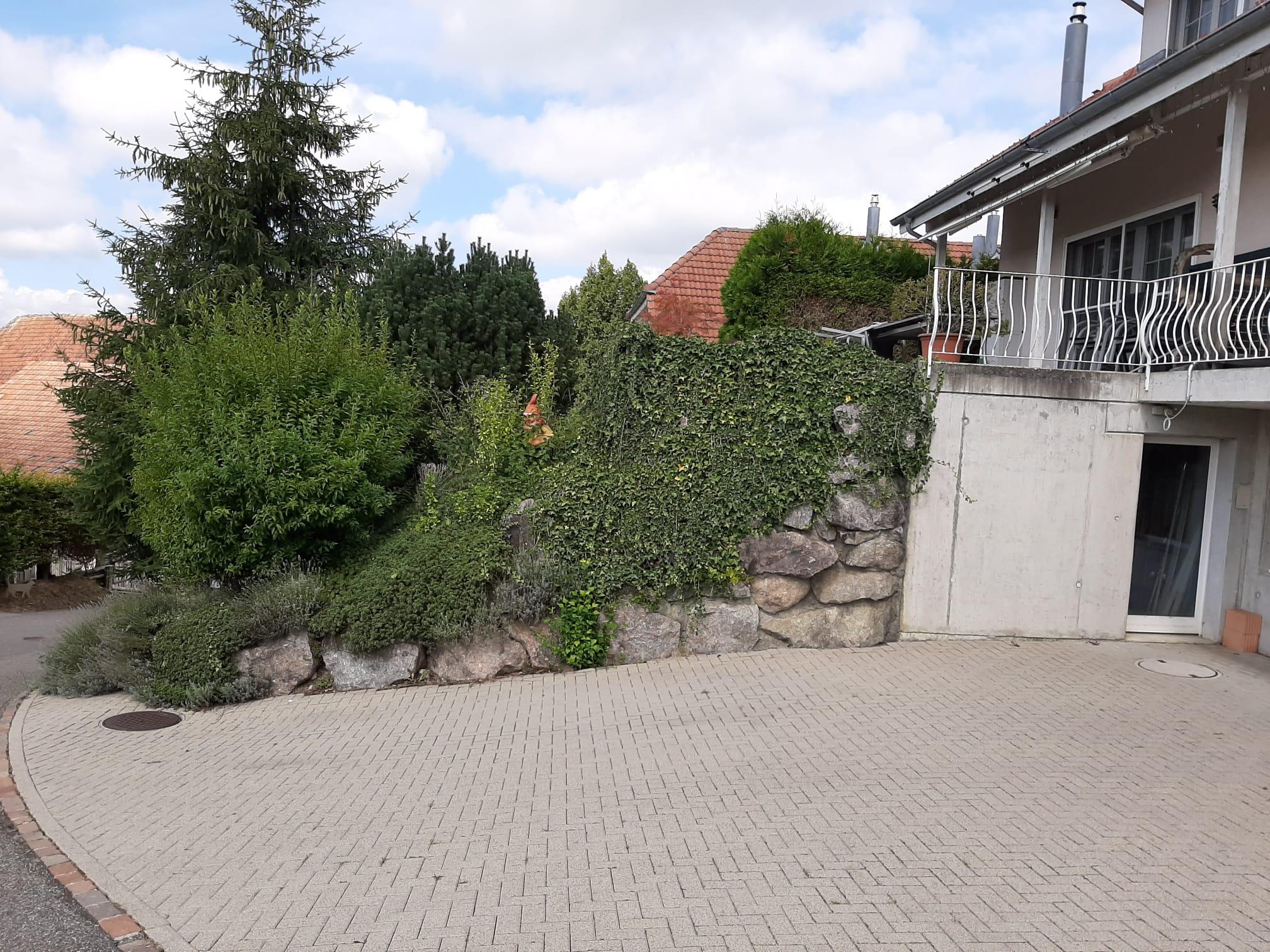 Aushub Garage, Hübelstrasse, Zetwil AG